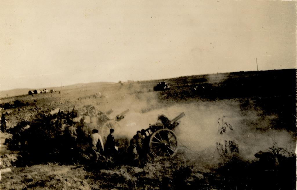 4. Frente en la guerra civil. Autor, Xornalcerto