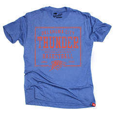 Vintage Oklahoma City Thunder Triblend Graphic T-Shirt