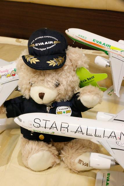 長榮 EVA Air 機長小熊