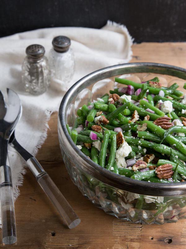Green Bean Salad Recipe from Vintage Mixer