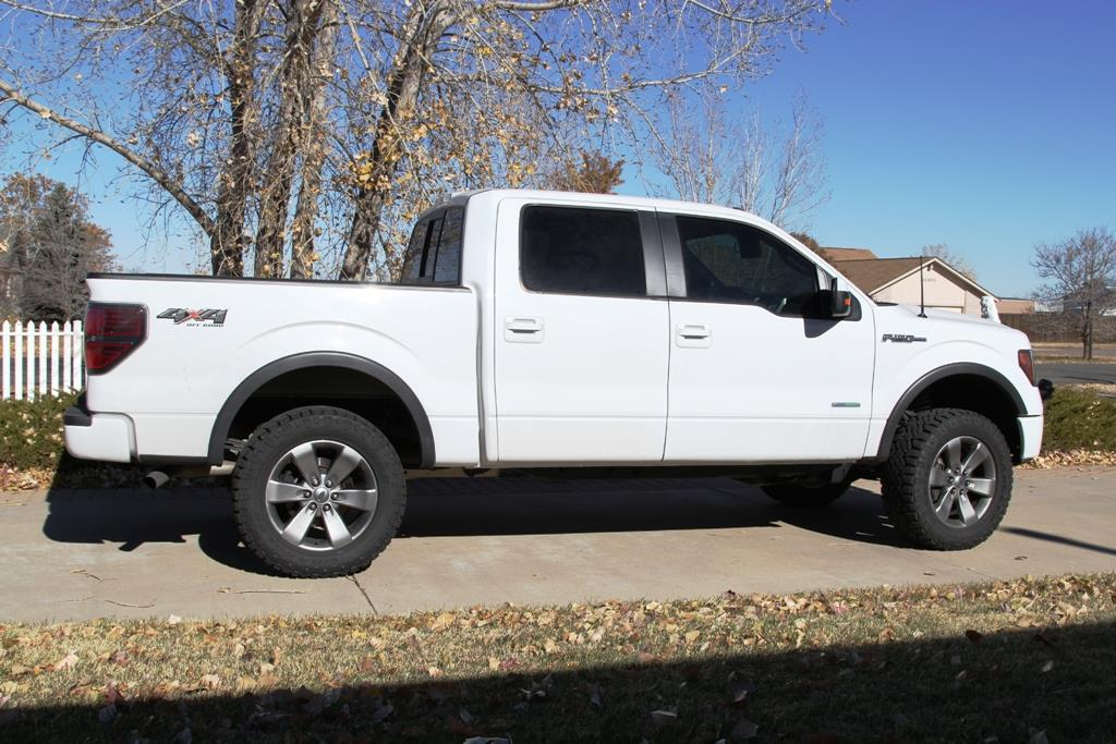 on stock 20 inch wheels - Ford F150 Wheels