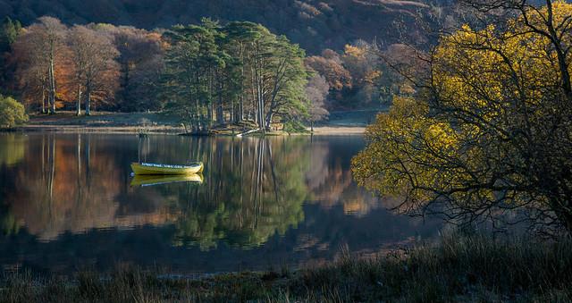 Autumn floats my boat