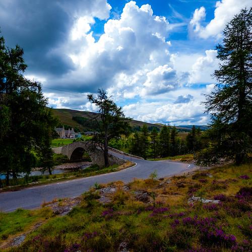 Brücke in Schottland; copyright 2013: Georg Berg