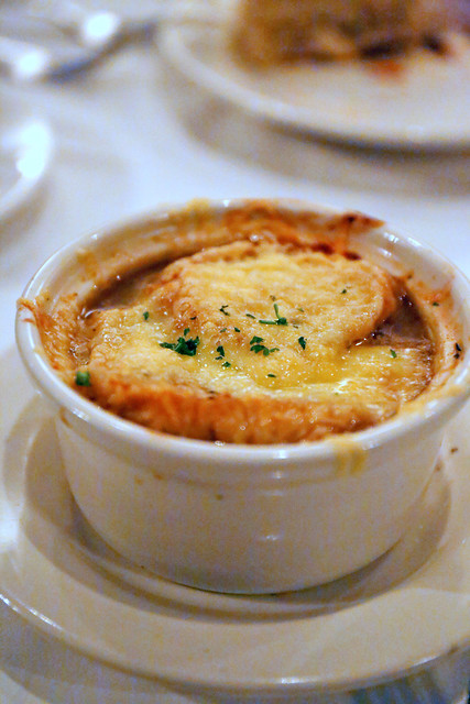 Baked Five Onion Soup (tasting portion)