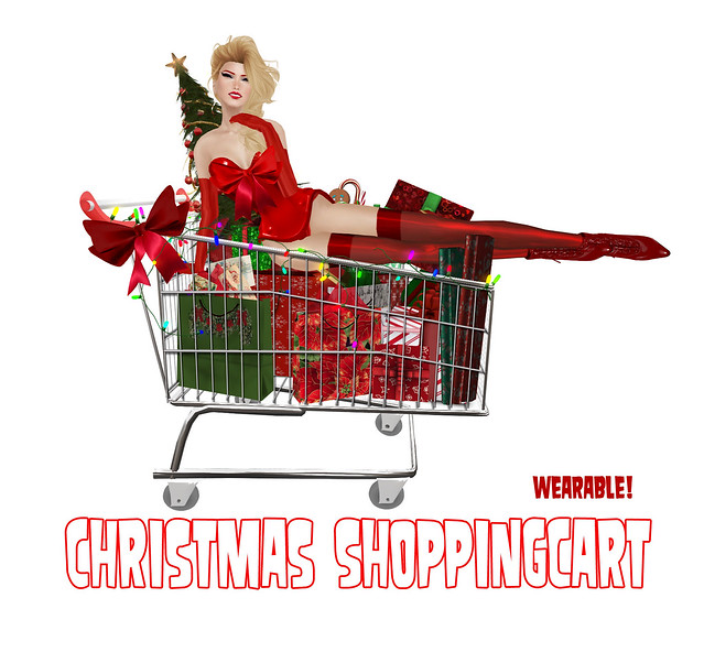 Christmas shoppingcart