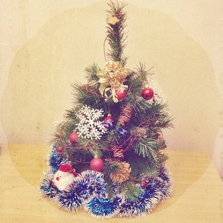 Christmas spirit #christmas #christmastree #afterlight #atwork