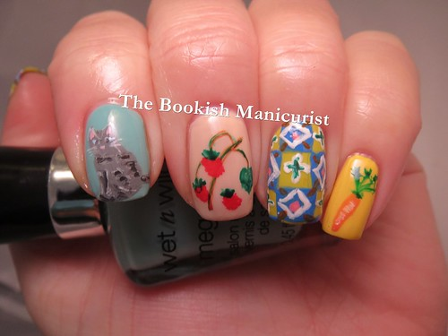 The Bookish Manicurist Mish Mash Challenge Card Or Board Game