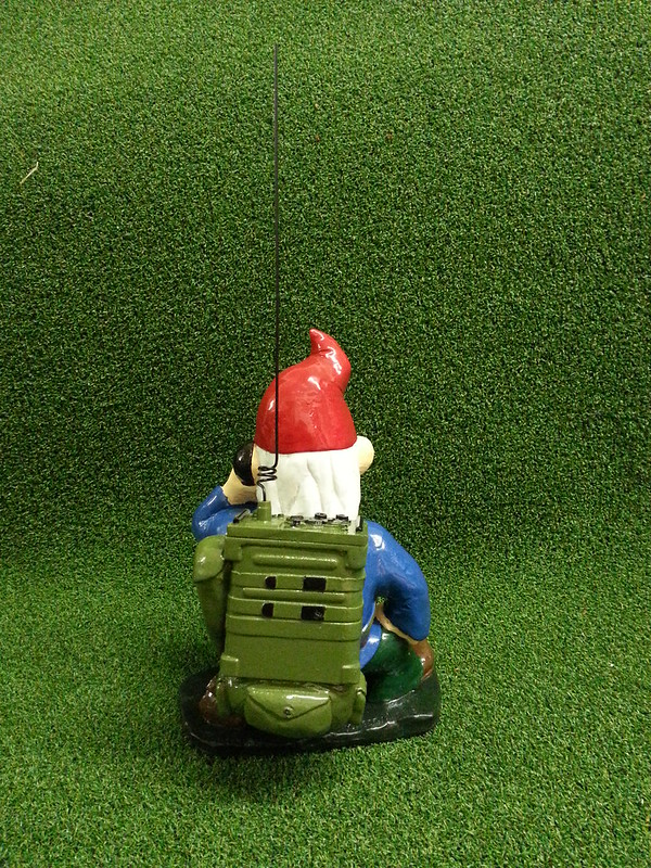 Combat Garden Gnome Radioman Back Part 80