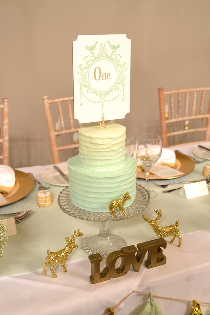 mint green ombre wedding cake mint green ombre buttercream wedding cake flickr photo 17448