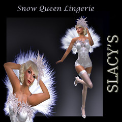 snow queen lingerie