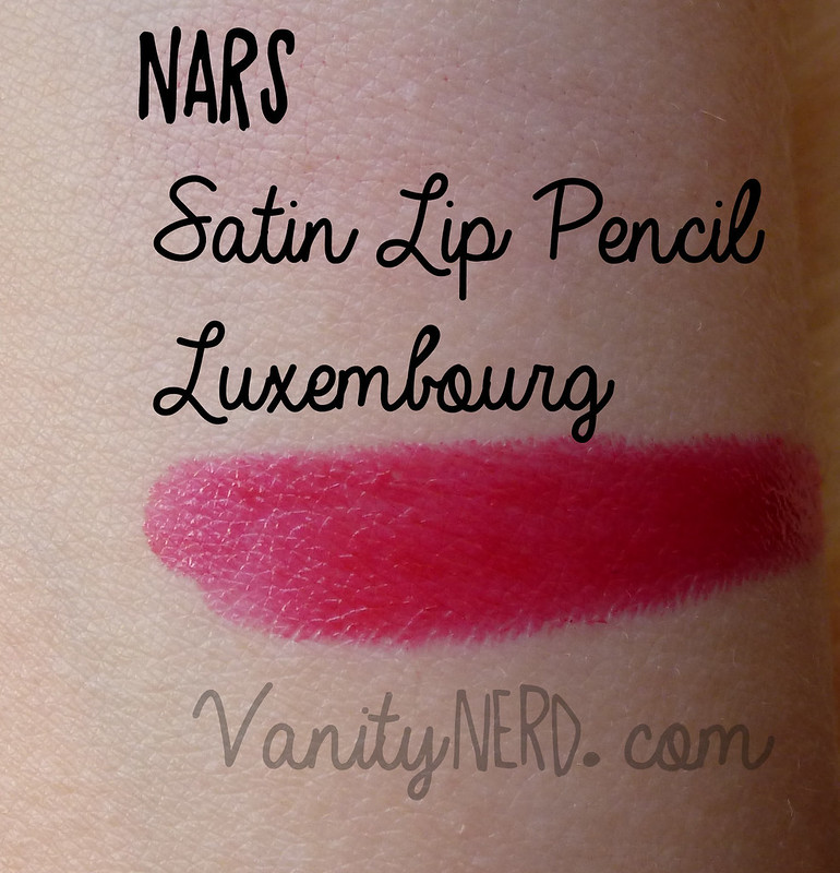 Nars swatch Luxembourg