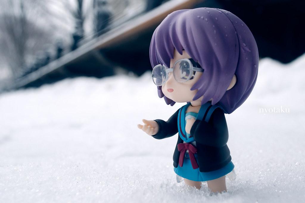 Yuki Nagato Nendoroid Snow