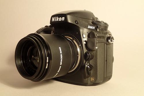 Cindo 85mm Series 52.5mm (lens in sleeve, M42-Nikon F)