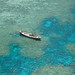 Flying over the Great Barrier Reef by keithbcg