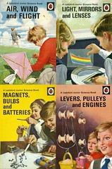 The Ladybird 'Junior Science' quartet