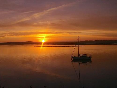 Morro Bay, CA Sunset