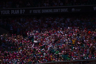 Barmy Army at the SCG on Day 3