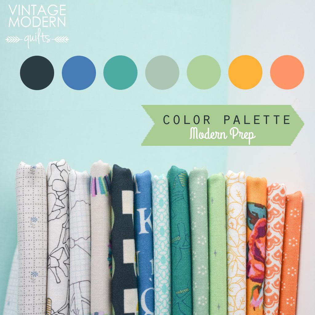 Color Palette: Modern Prep
