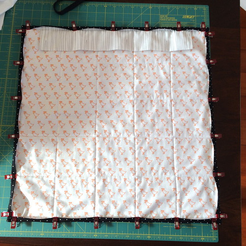 AMH All Day Mini Quilt - back