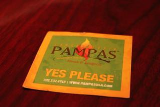 Pampas #runawaytovegas