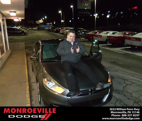 Happy Anniversary to Geoffrey Richard Burke on your 2013 #Dodge #Dart from David Doody  and everyone at Monroeville Dodge! #Anniversary by Monroeville Dodge