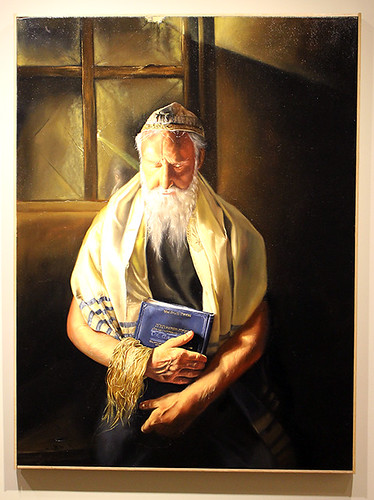 Lineage Triptych Rabbi Yochanan by Matthew Adelberg