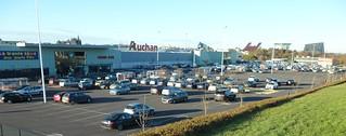 Shopping : centre commercial Auchan et sa galerie