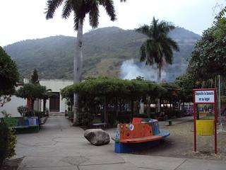 Bild von Park La Trinidad. park parque mountain church palms iglesia palmeras cerro nicaragua montaña estelí latrinidad