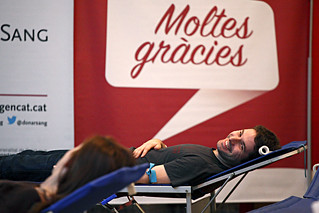 1a jornada de la Marató de Donants de Sang 2.0 de Catalunya