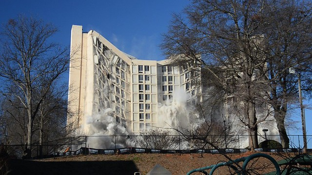 Scott Tower Implosion