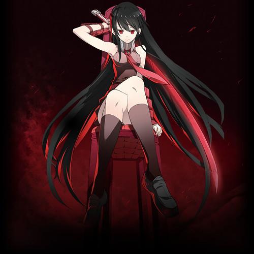 140122(2) - 魔幻暗殺漫畫《アカメが斬る!》(斬.赤紅之瞳!)將放送電視動畫版、兩張海報搶先公開! 1