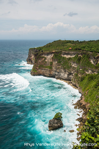 The Cliffs of Uluwatu, Bali, Indonesia