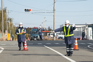 Roadblock in Tomioka
