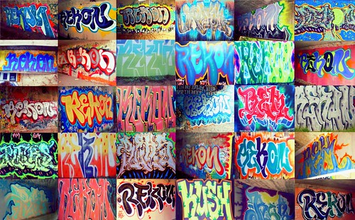 #rekon #burnerz #piecez #bombz #graff #graffiti #urbanart #art #collage