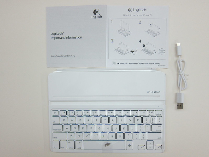 Ultrathin Keyboard Cover - Box Contents