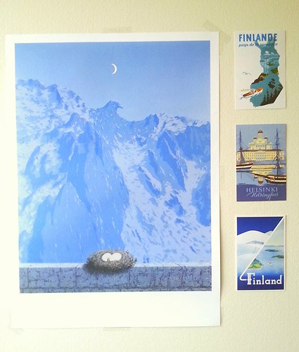 Magritte & Finland postcards