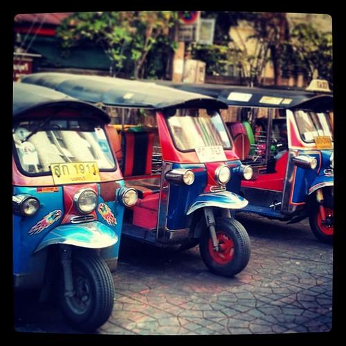 Tuk tuks #Bangkok #tailandia