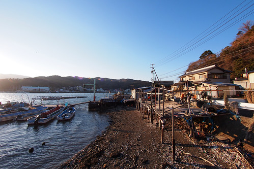 On the harbour in Toba-shi