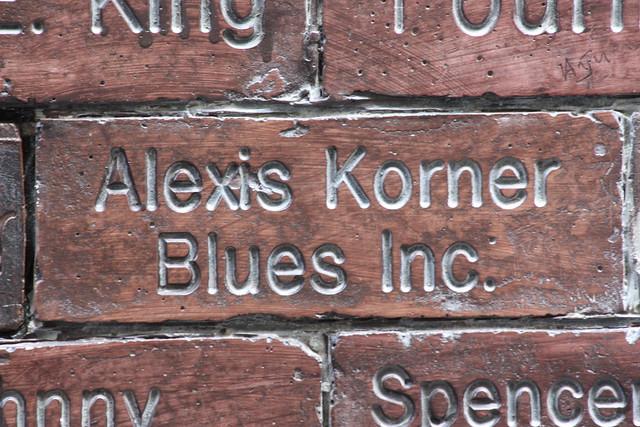 Header of Alexis Korner