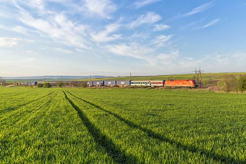 train u2 siemens rail cargo container bulgaria shuttle taurus carrier freight öbb pliska balo 071 1116 e64 eurosprinter