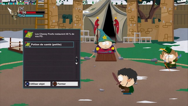 Test - South Park : Le bâton de la vérité - Screenshot 1