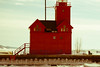Big Red lighthouse in Holland Michigan.  #lighthouse #landscape