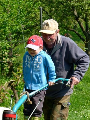 Martin and Grandad