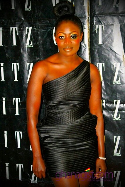 Nana Akua Addo at the unveiling of Glitz Africa Magazine issue 8