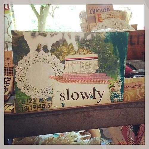 New mantra. #stillness #joyjoyjoy Cc @florabowley
