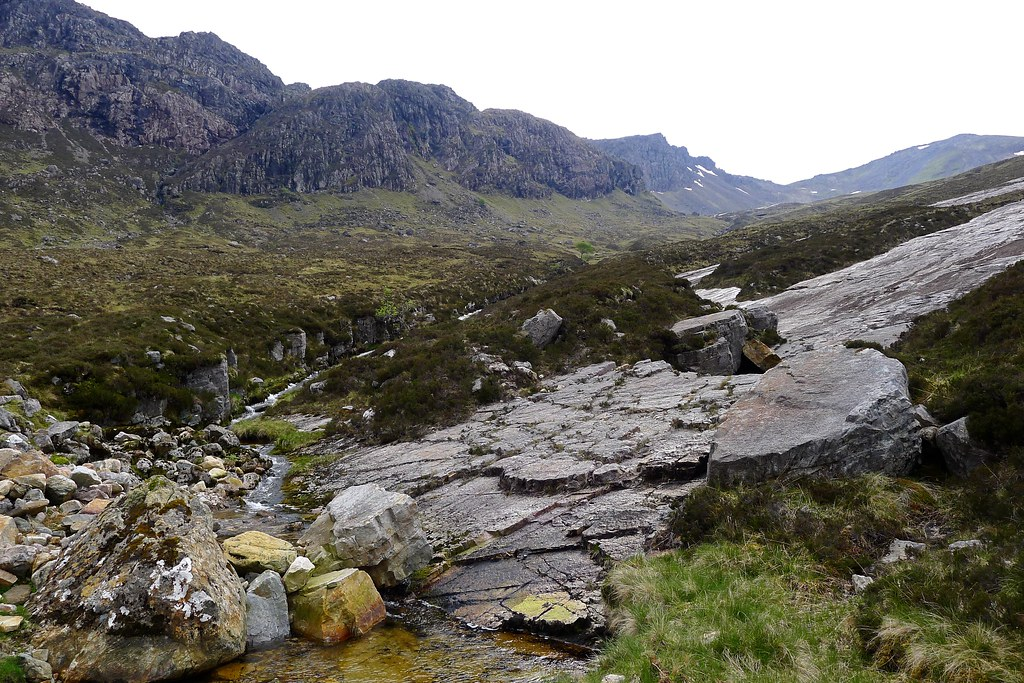 Waterfalls below Sgurr Dubh