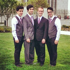 Handsome times four. My sons. #family #wedding #boys #handsome #luckymom #sons #peoplemattermost #ayearoffaces #20140530 #365project