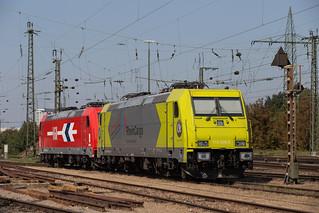 Alpha Trains 119 005 + 185 631 Basel Bad