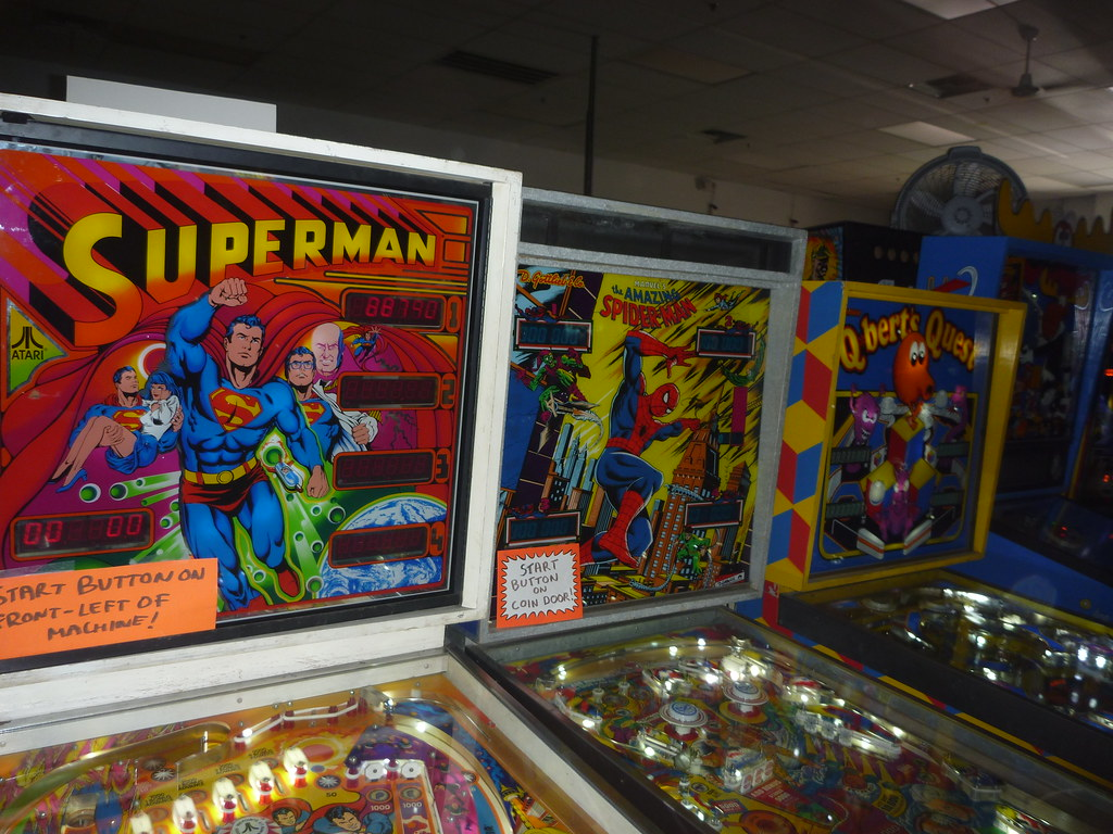 Pinball Hall of Fame Photos By Keith Valcourt for RetroRoadmap.com