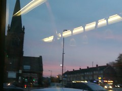 Cotteridge sunset from the 11A
